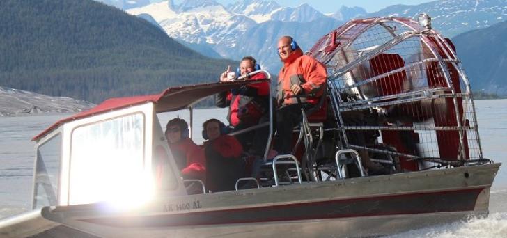 Airboat Tours - Juneau, Alaska