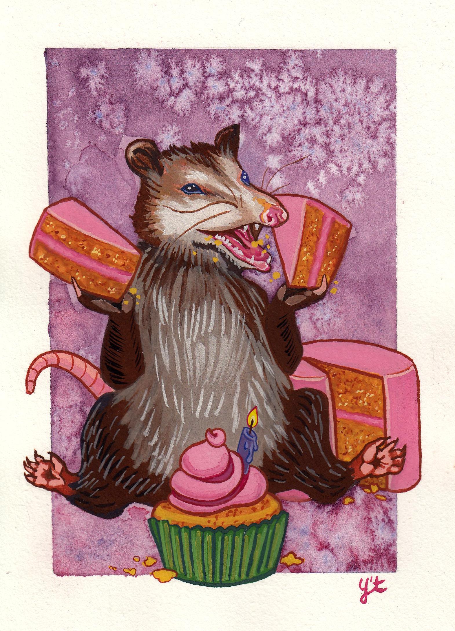 Cake Possum