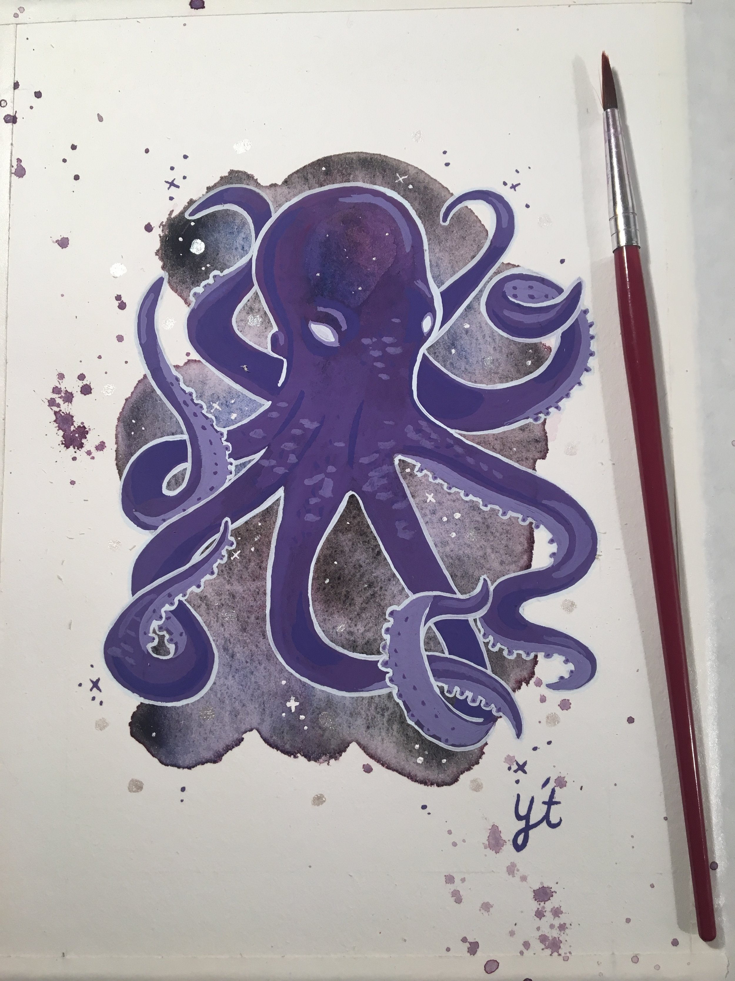 Galactic Octopus 1
