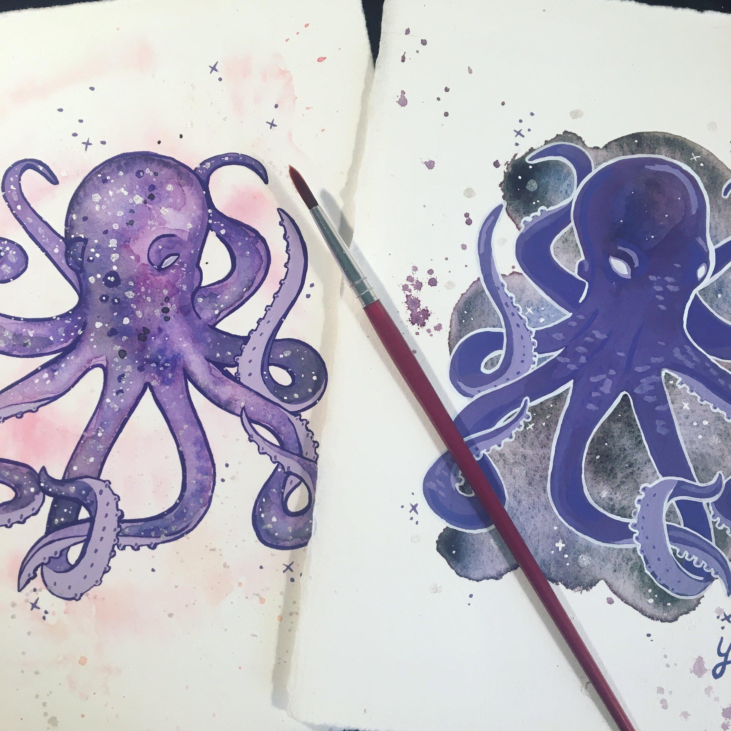 Galactic Octopus 1 & 2
