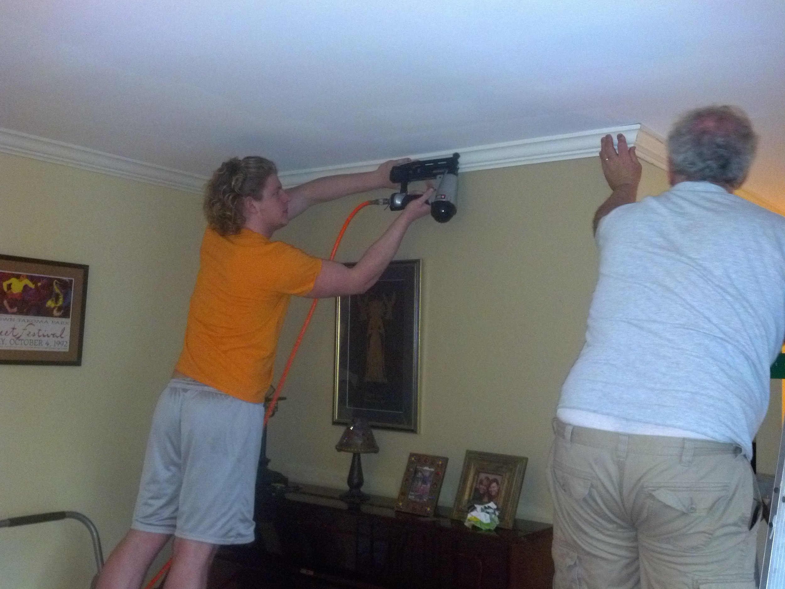 CliffMarshall install crown molding.jpg