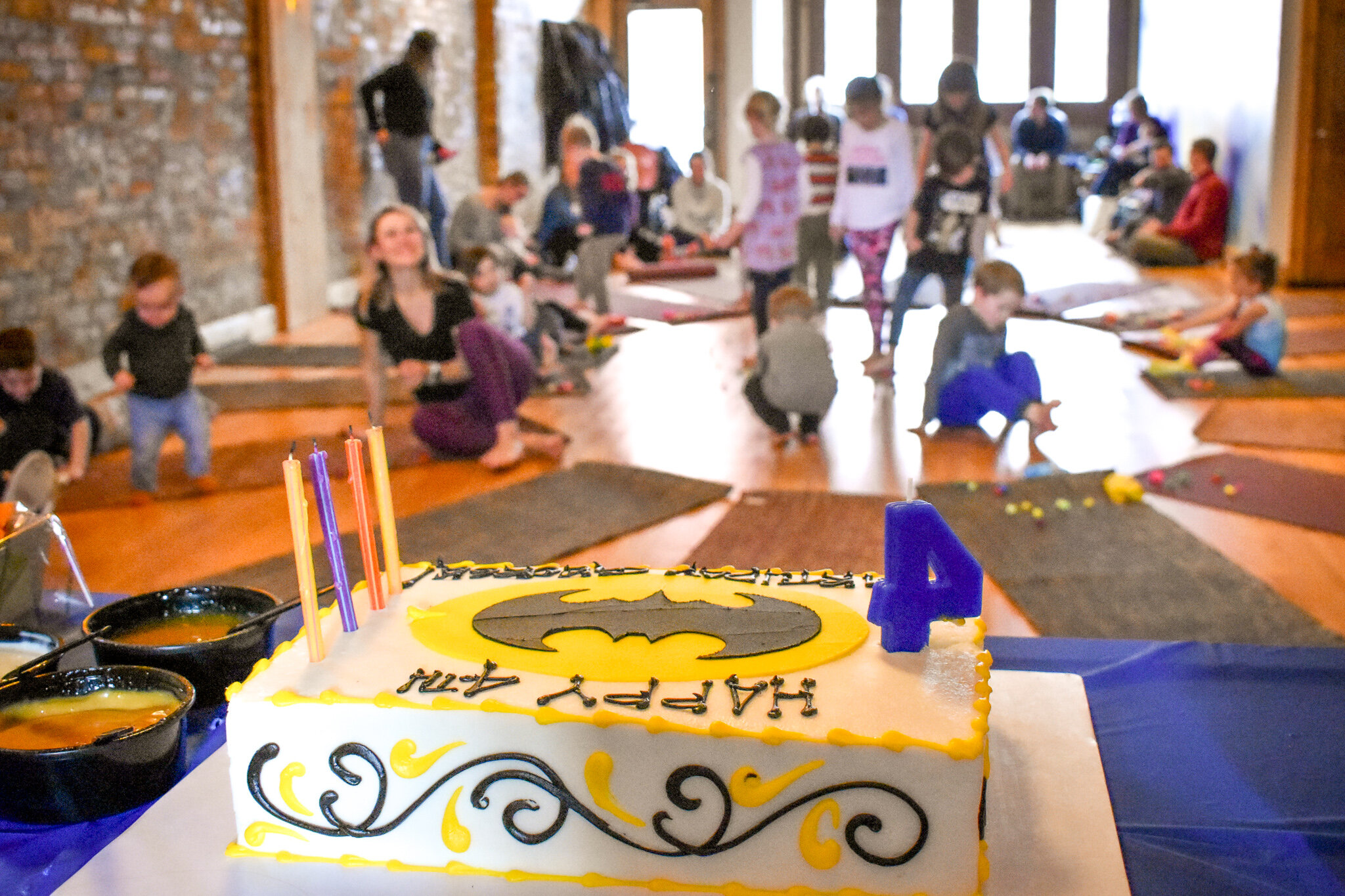 Yoga Birthday Parties - & private events