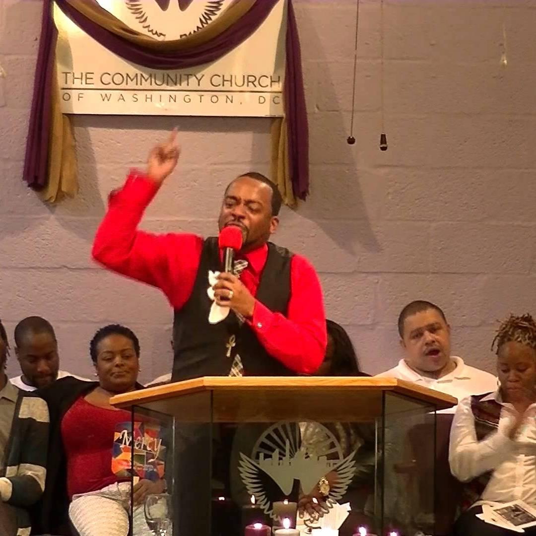 Pastor Aaron Wade, The Community Church of Washington DC