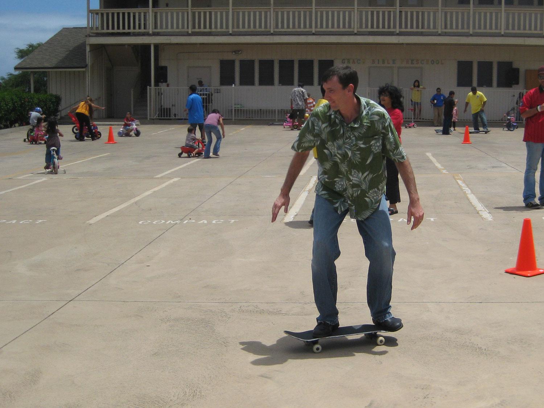Ohana Sunday Grace Bible Church Maui Hawaii - roller derby