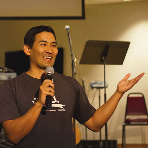 Pastor Jonavan Asato, Grace Bible Church Maui