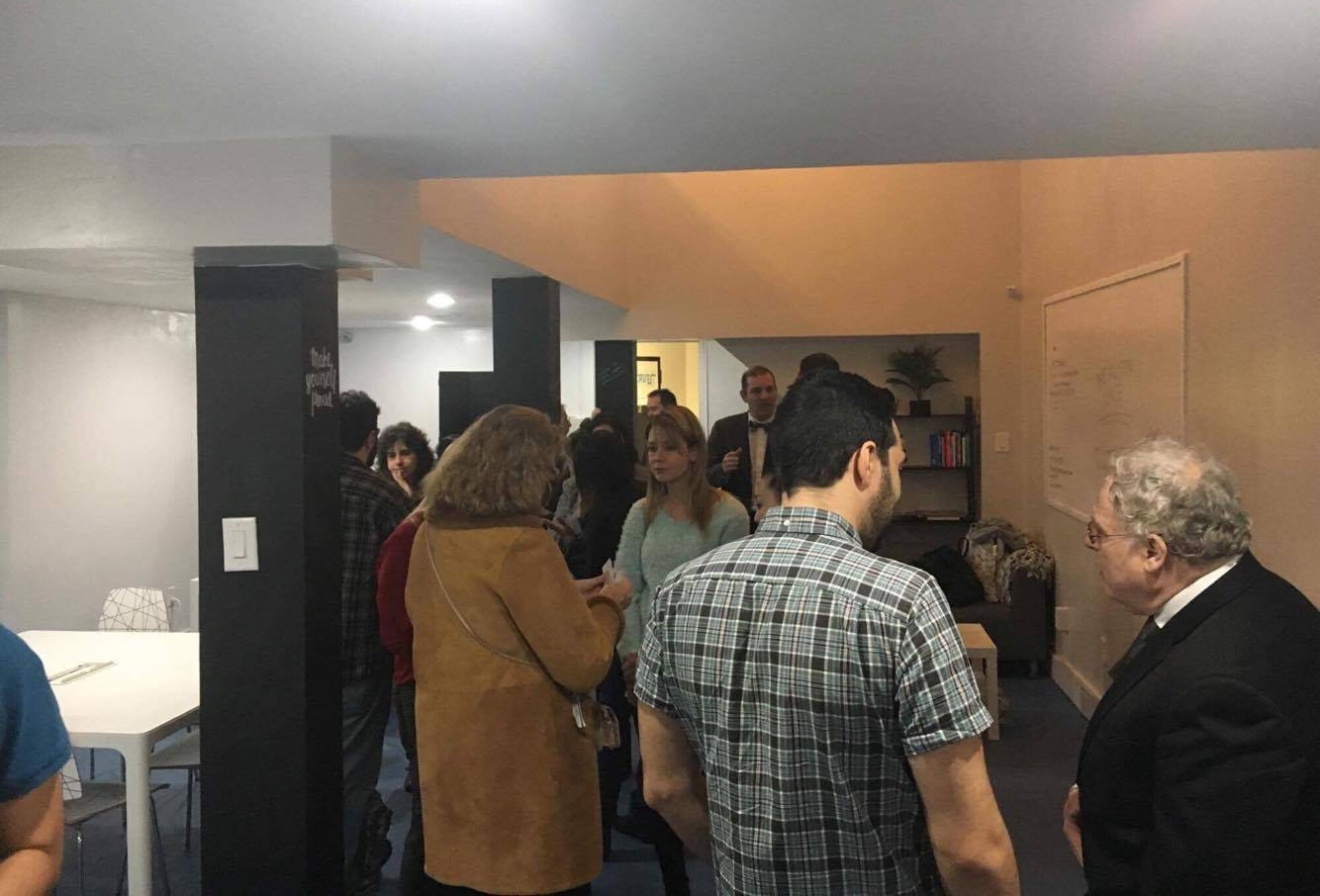 The Austin Space and Queens Connection hosted a Business Card Exchange Mixer on March 9, 2017.