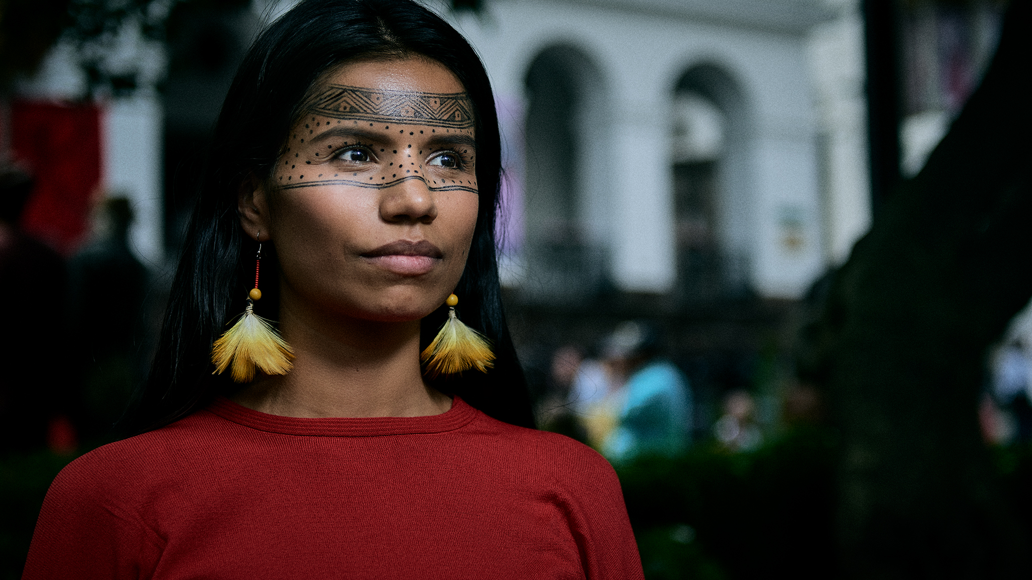 Portrait of Nina Gualinga #mujeresamazonicas