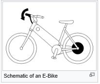 Schematic of e-Bike