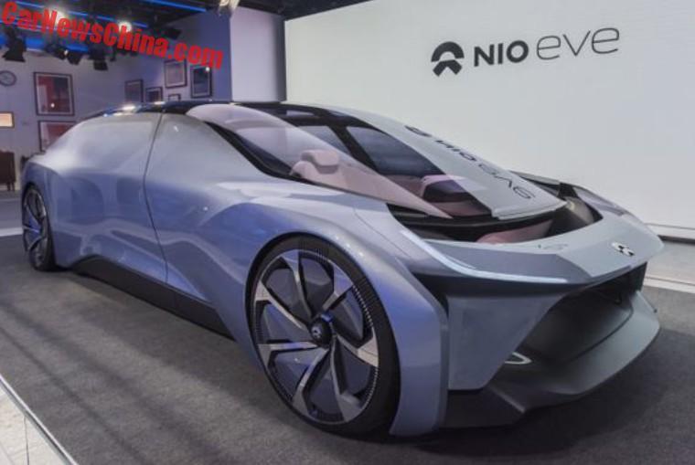 NIO EVE Electric Car