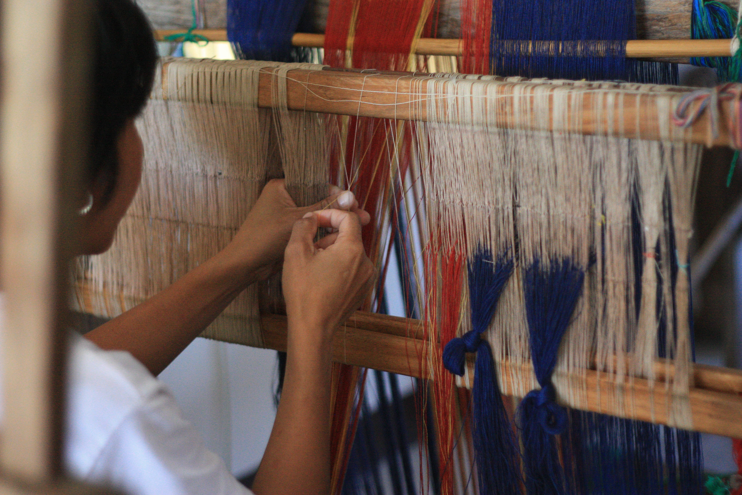 Handcrafted Woven Process