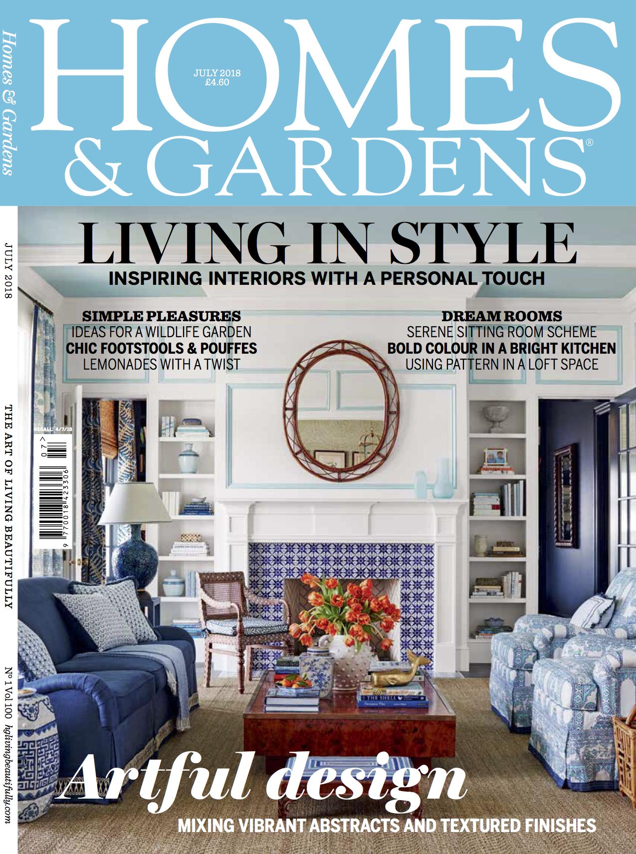 Homes & Gardens - July 2018