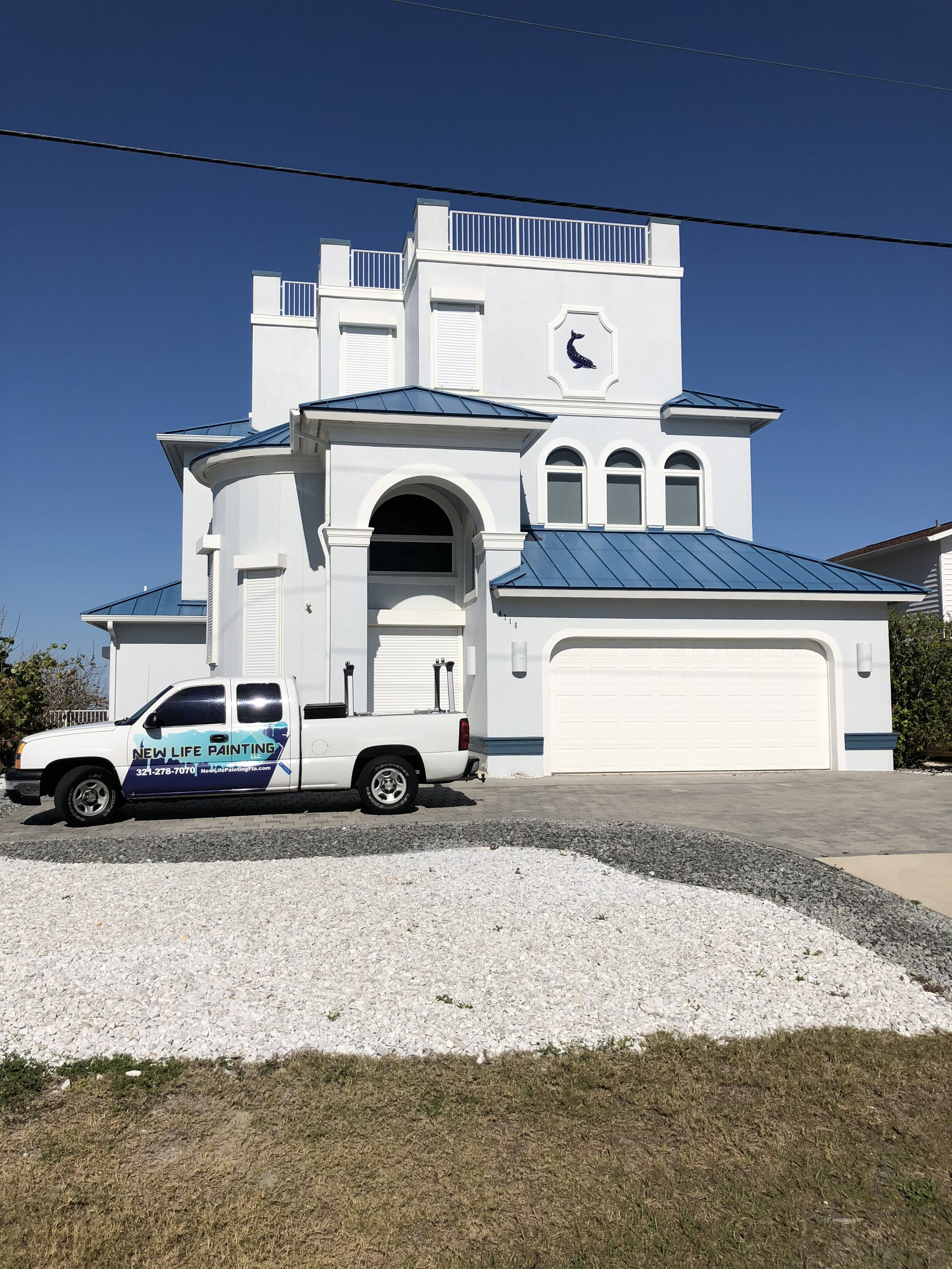 A full exterior in ponce inlet