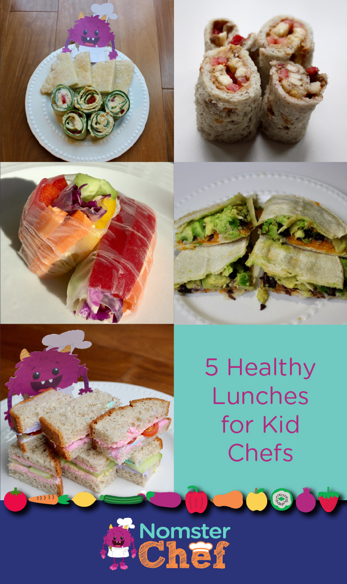 5 Healthy Lunches for Kid Chefs _Nomster Chef