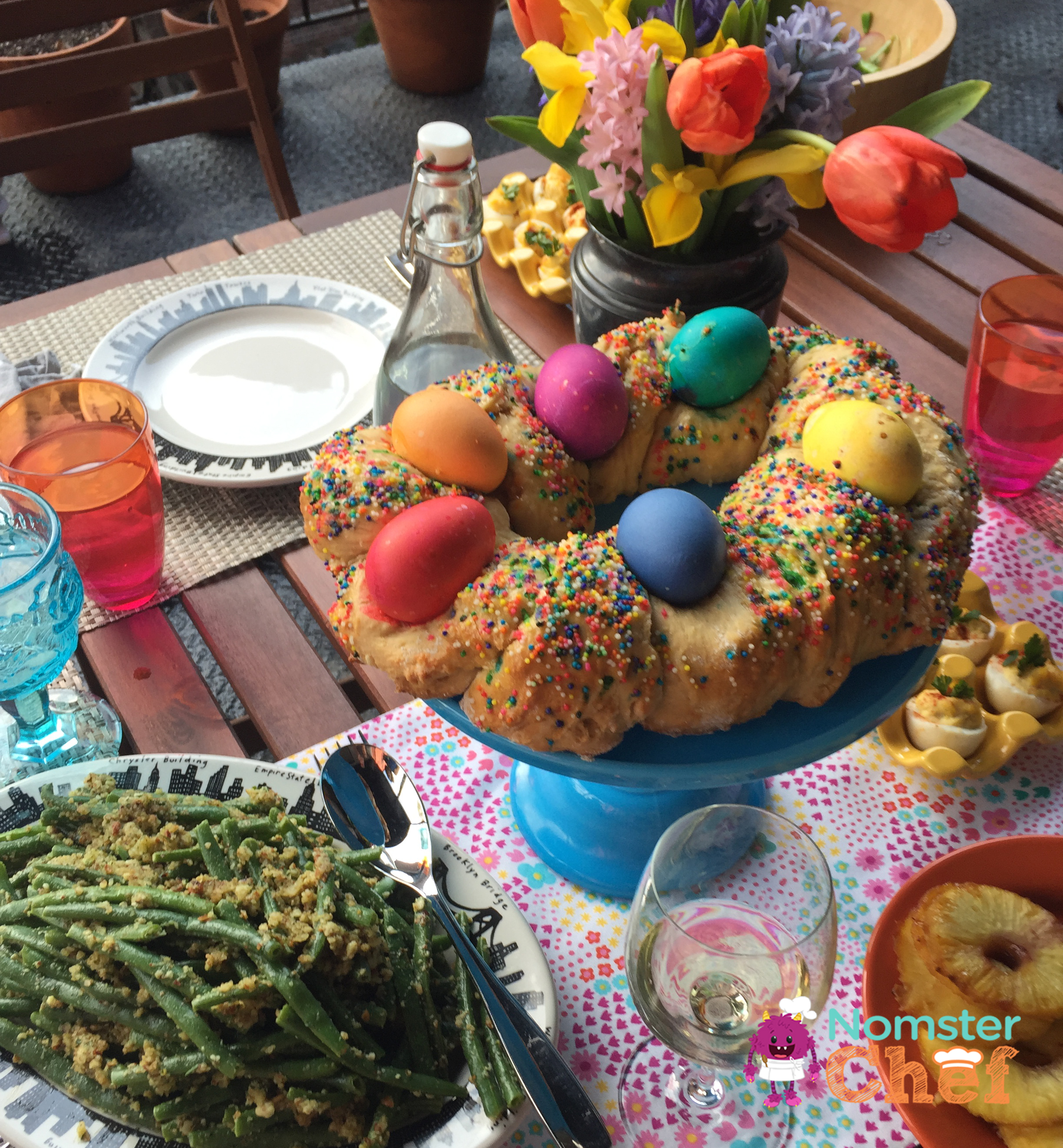 Italian Easter Bread | Food is Family | Nomster Chef