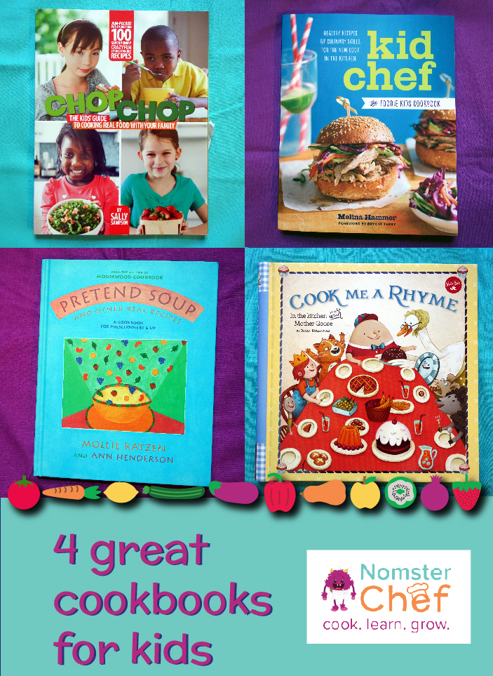 4-great-cookbooks-for-kids | Nomster Chef