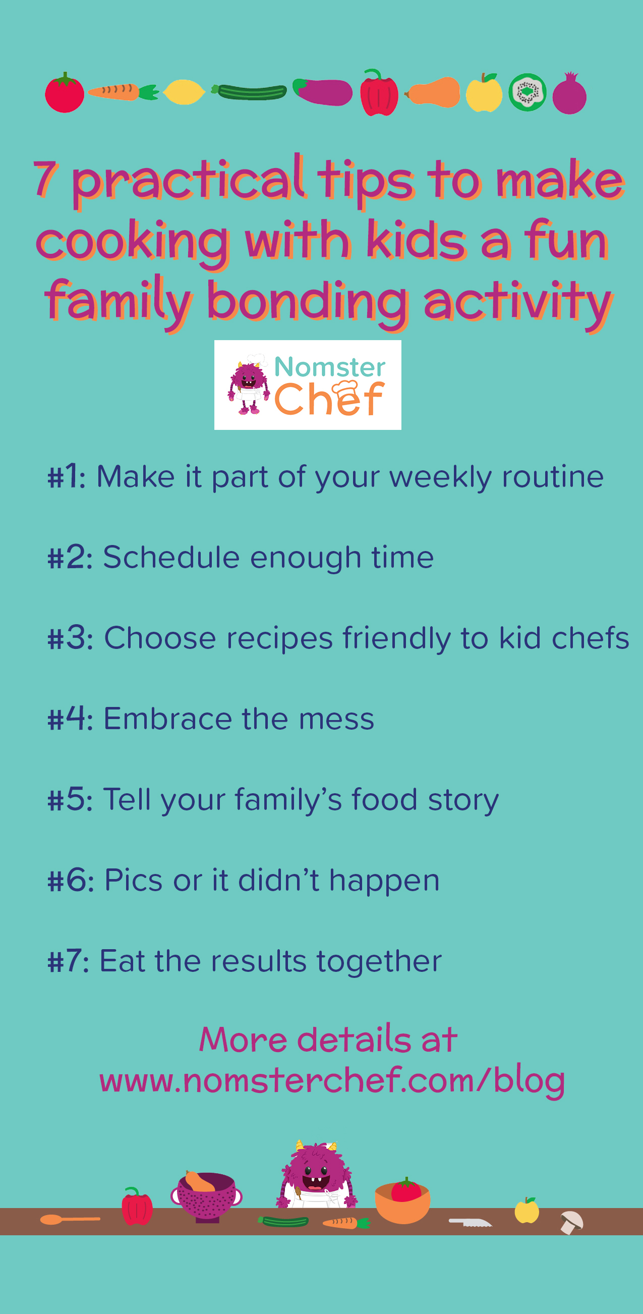 7-practical-tips-to-make-cooking-with-kids-a-fun-family-bonding-activity | Nomster Chef