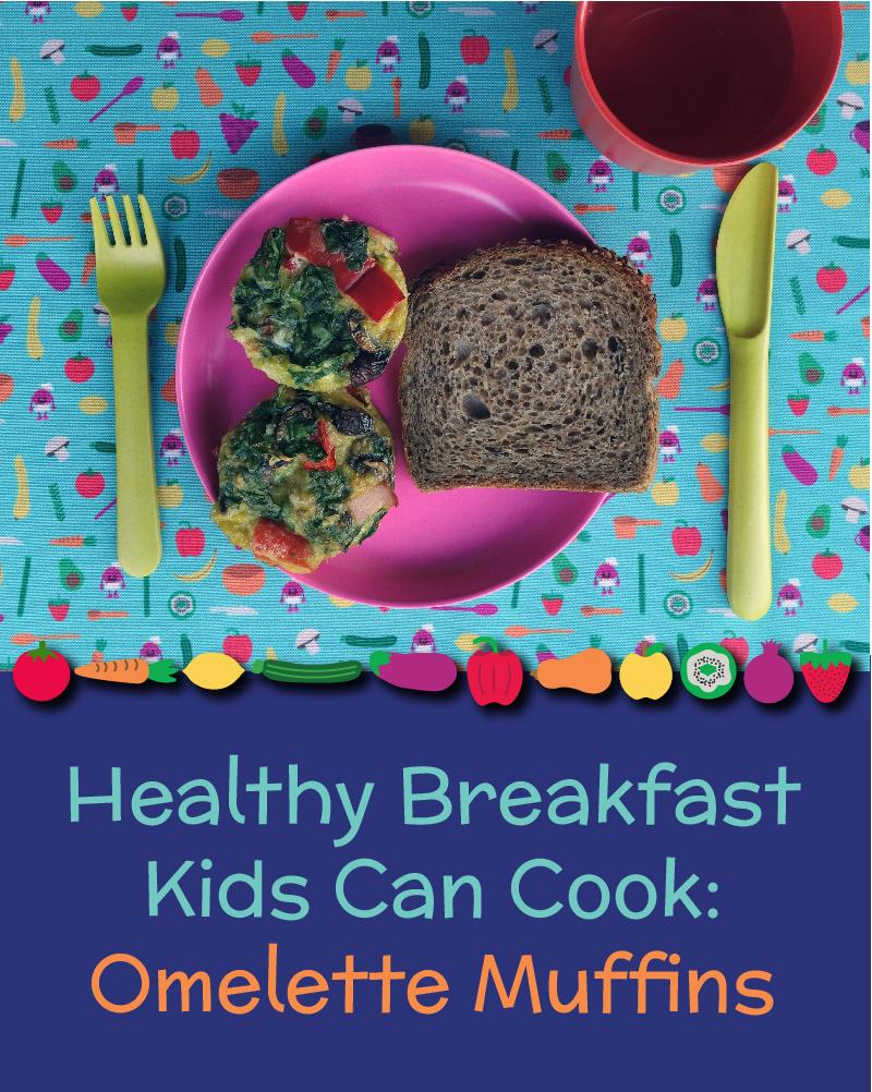 Healthy Breakfast for Kids - Western Omelette Muffin - Nomster Chef - Pinterest-01