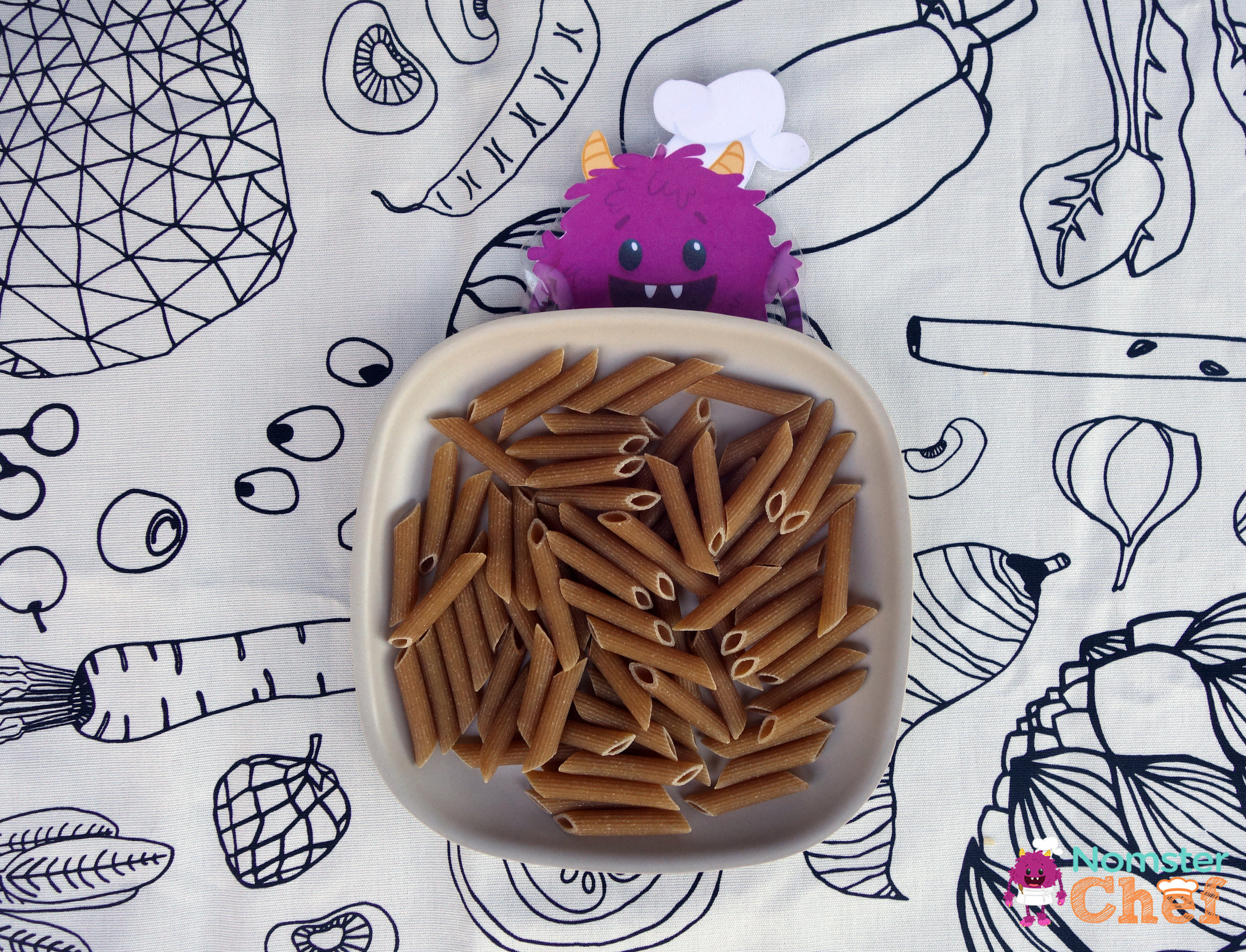 whole wheat pasta- nomster chef- why whole grains are great for kids