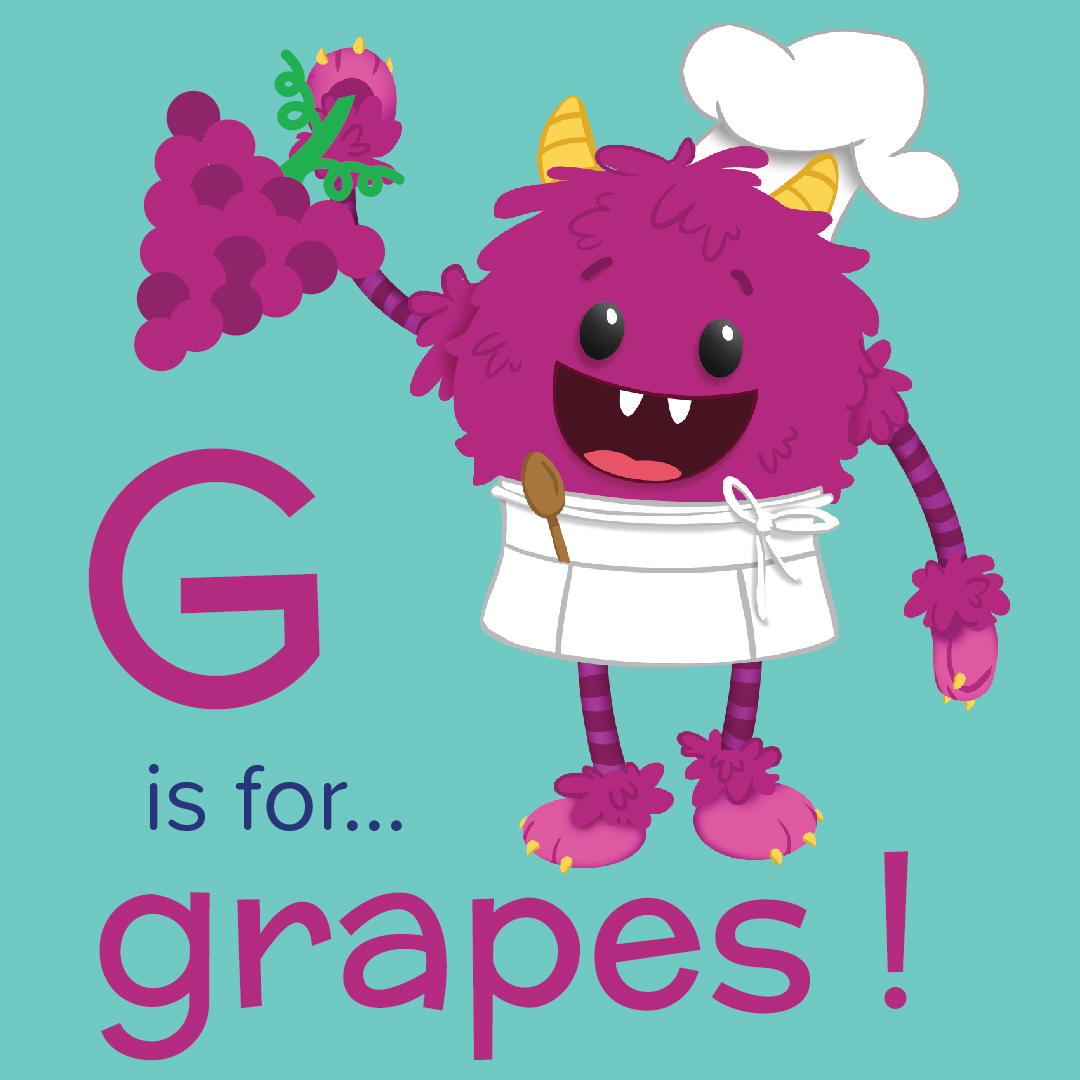 G is for Grapes - Nomster Chef