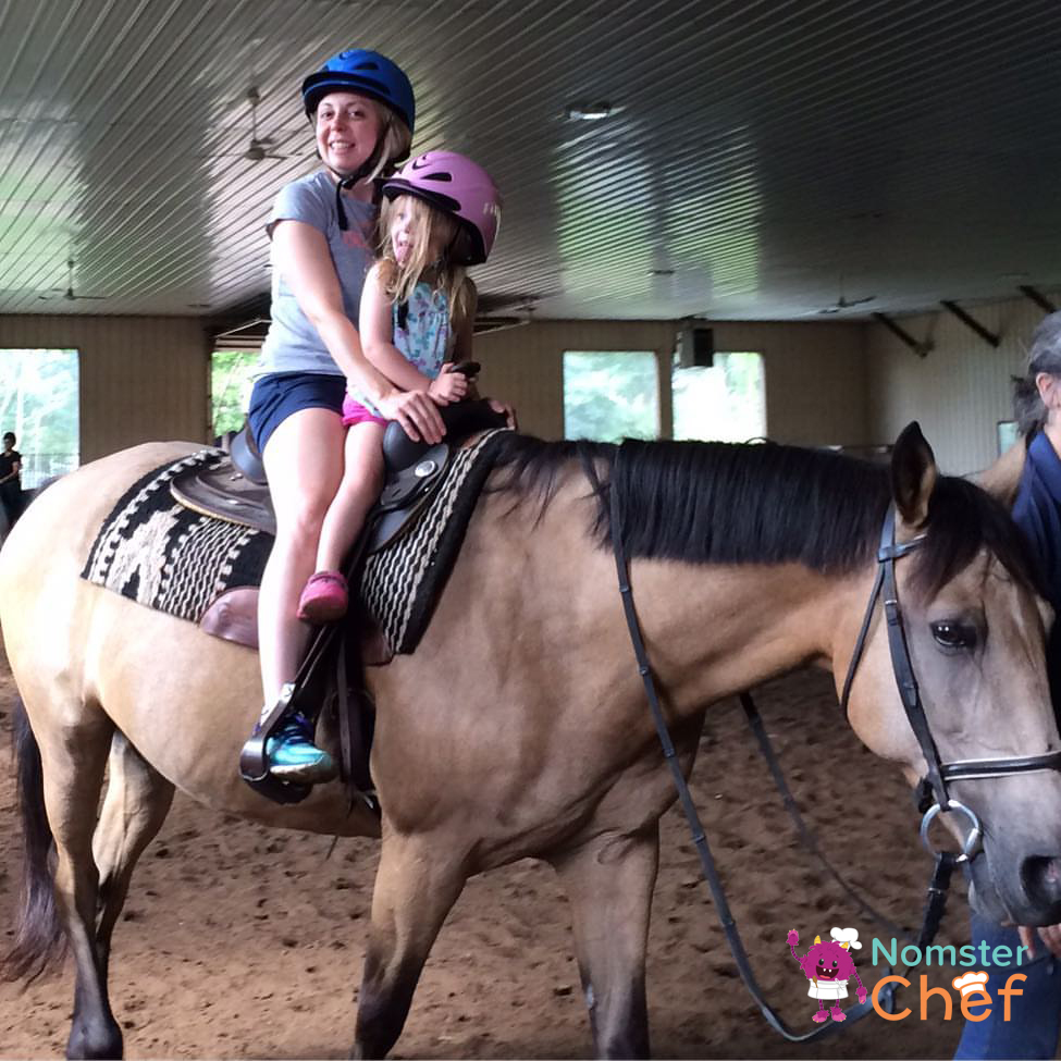 Summer fun for kids- visit a farm and learn how food grows-horseback riding-Nomster Chef