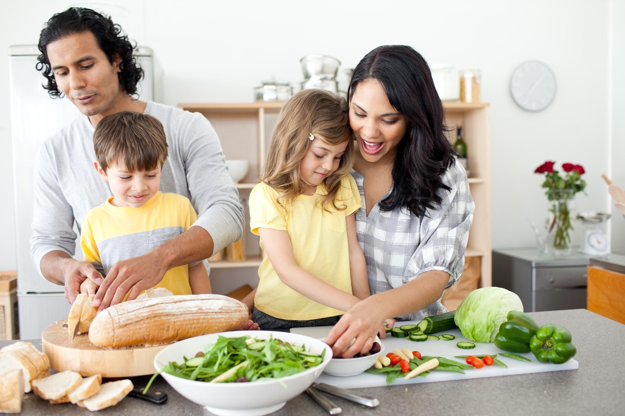 family bonding time - Nomster Chef