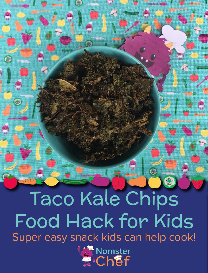 Food Hack Make Your Own Kale Chips_Nomster Chef