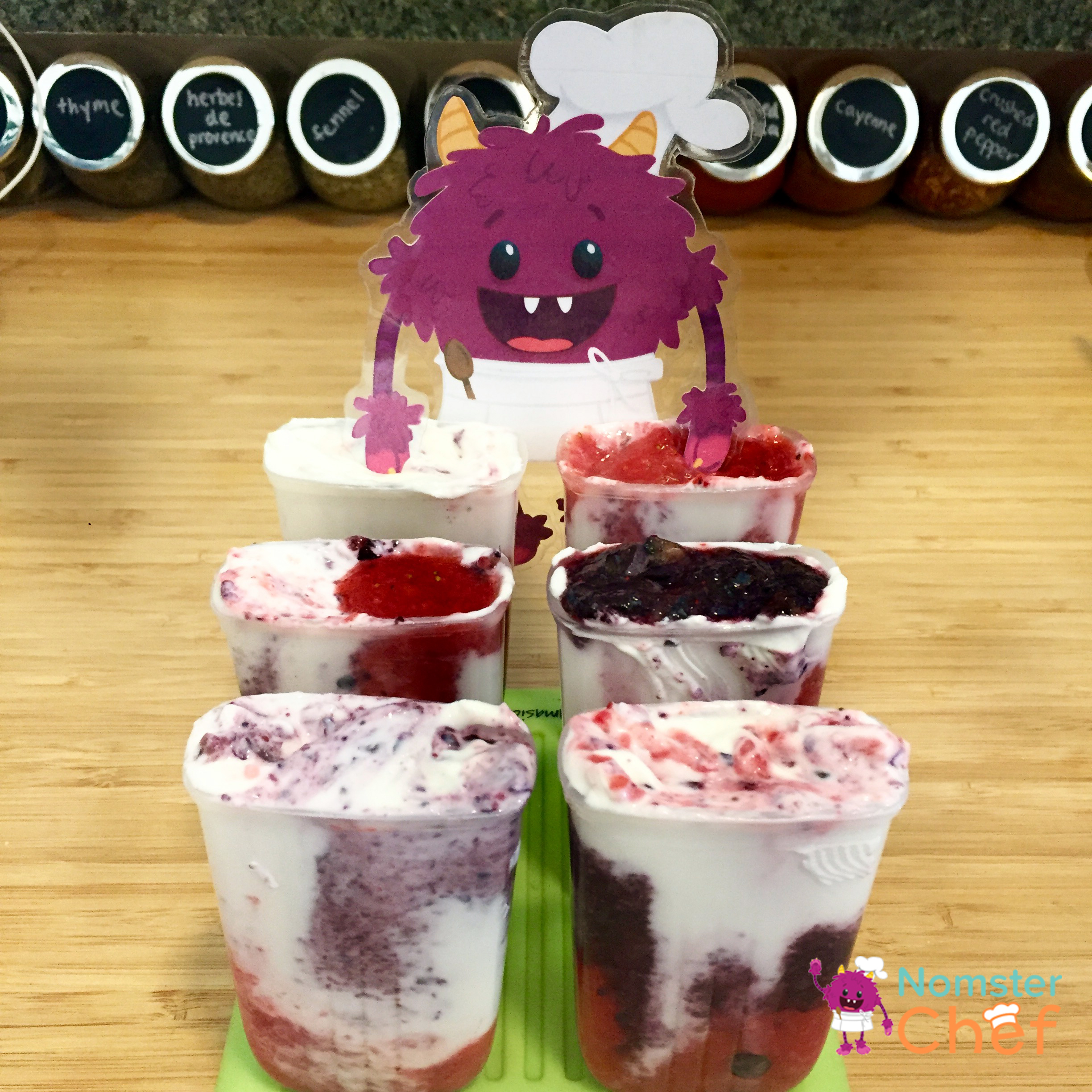 Popsicle molds-4th of July Ice Pops - Nomster Chef Blog Recipe