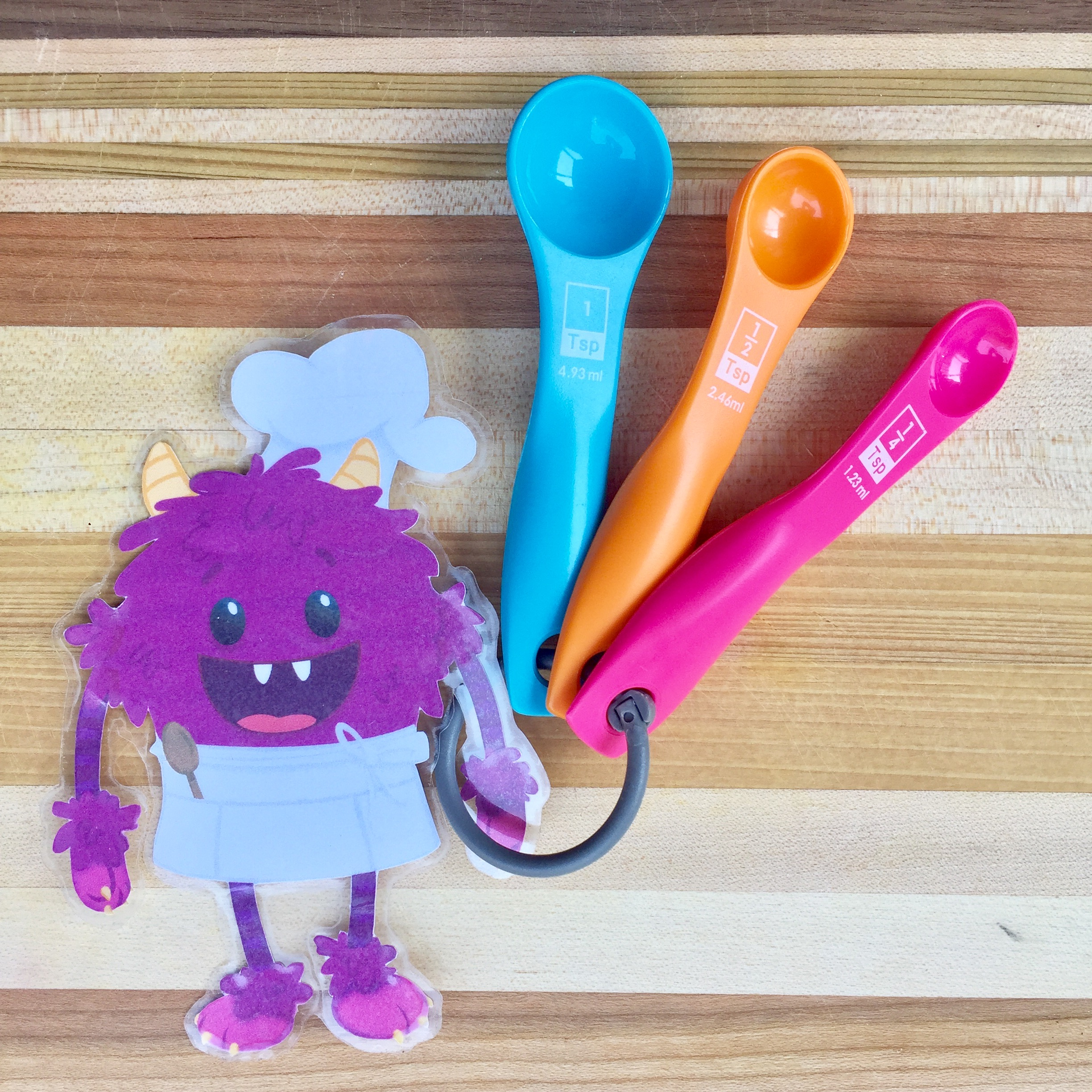 Learning through cooking - Nomster chef Fractions blog