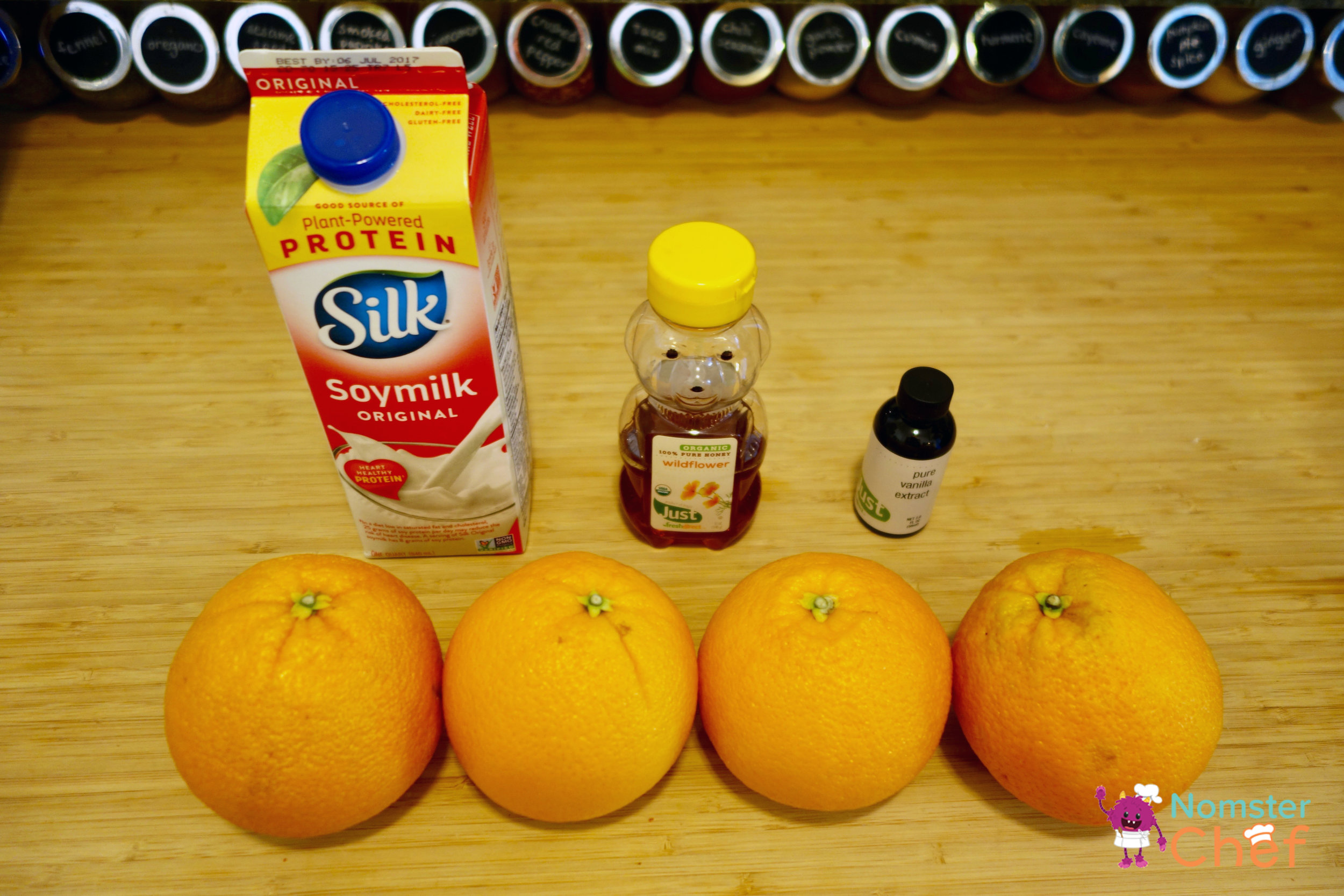 O is for Orange Smoothie - Nomster Chef Blog Recipe