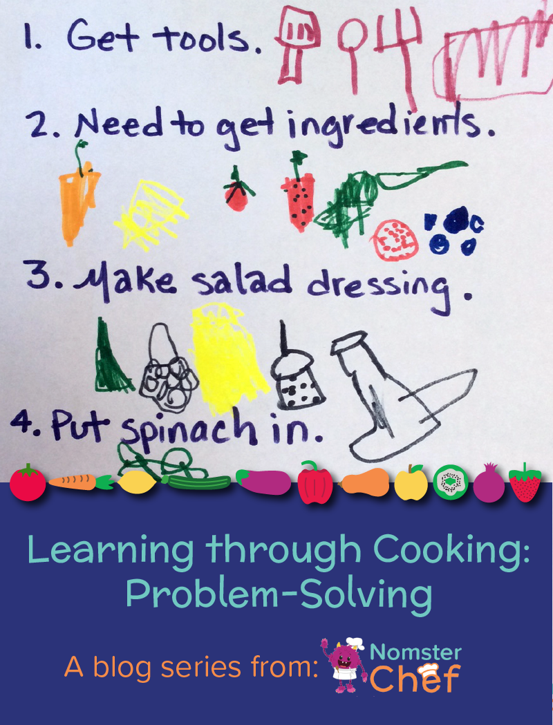 Learning through cooking problem-solving - Nomster Chef