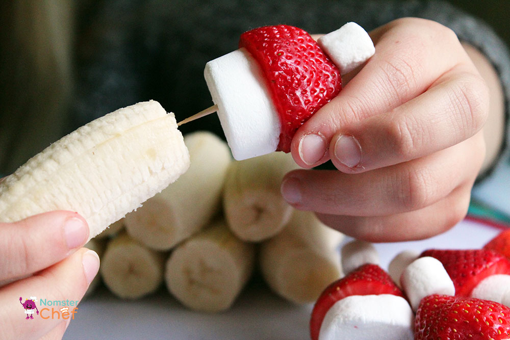 Christmas Cooking with Kids: Strawberry Santa Pops