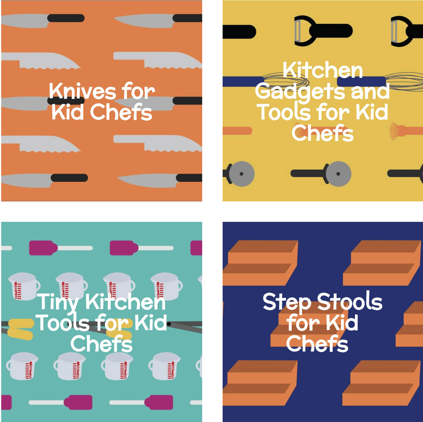 Gift Guide for Kids Who Like to Cook - Nomster Chef Shop