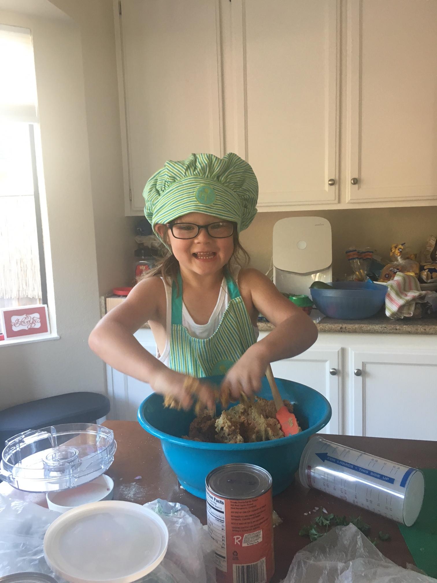 Chef Abbie, Age 6