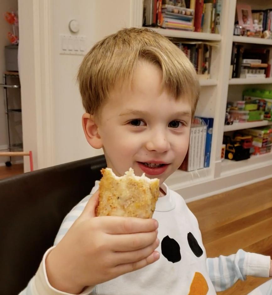 Chef Sam, Age 4