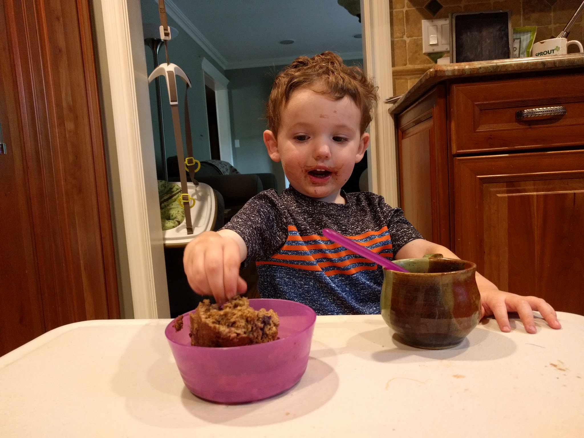 Chef Zachary, Age 2