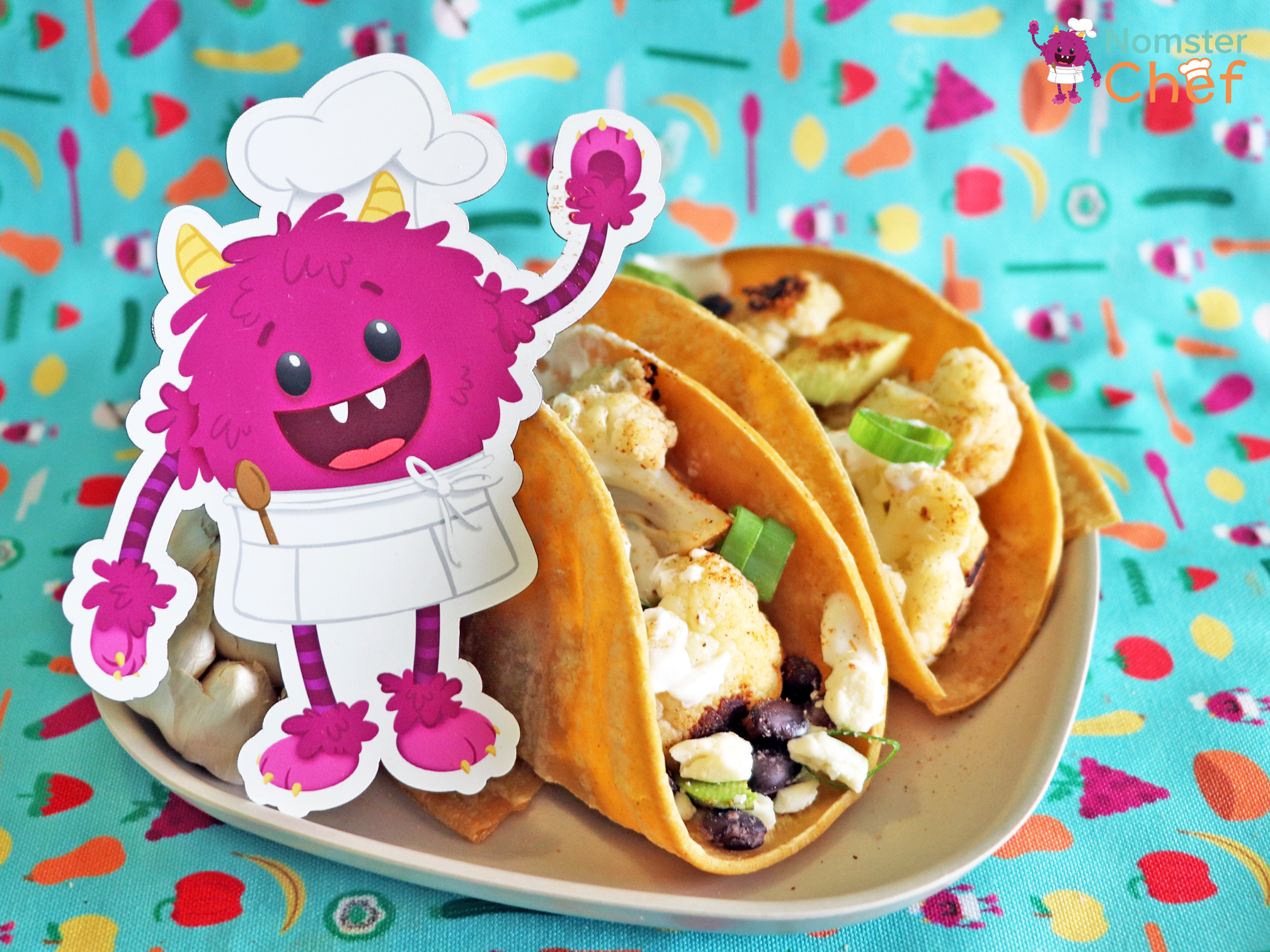 cinco-de-mayo-veggie-soft-tacos-nomster-chef