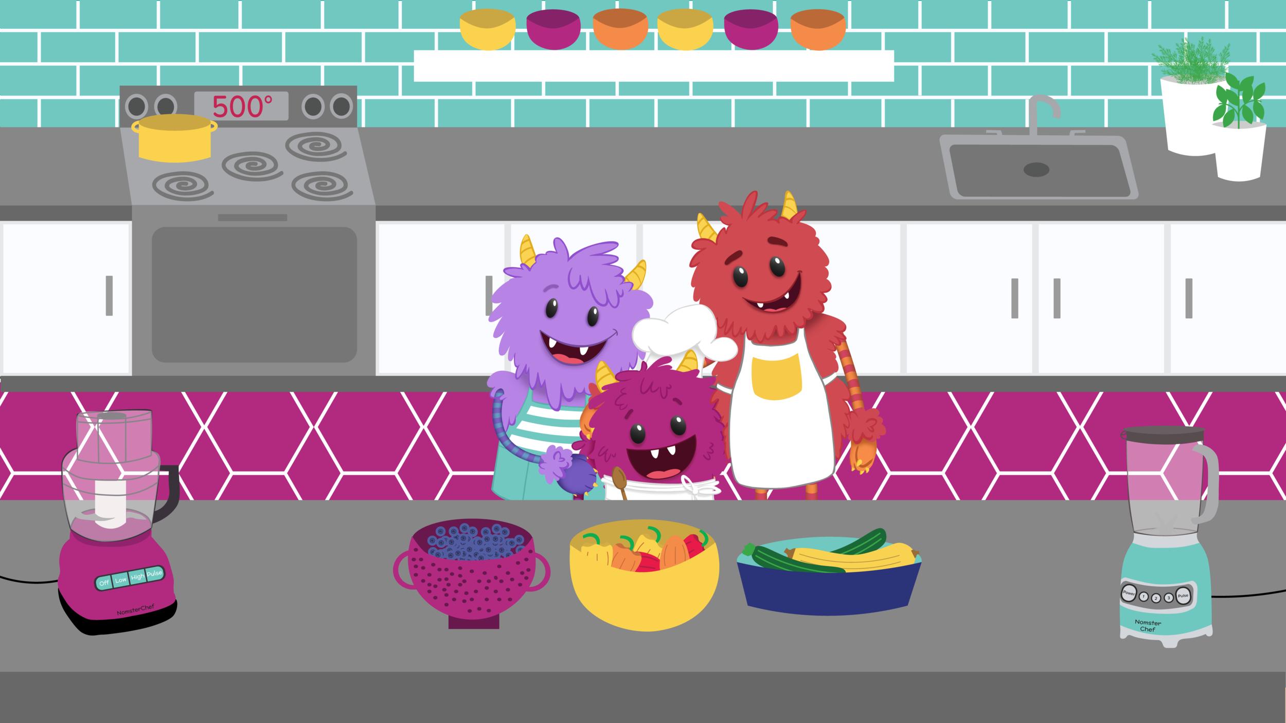 Nomster family kitchen illustration.png