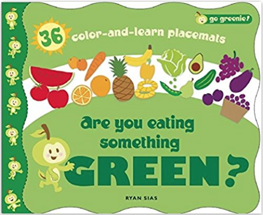 Color and Learn Placemats - Placemat coloring pages all about food. Perfect for the table!