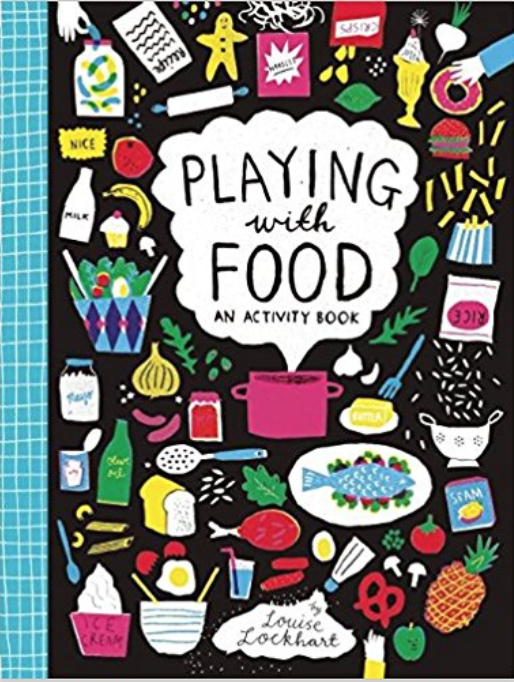 Playing with Food activity book - Part coloring book, part food journal for kids. Will keep kids busy for a loooong time!