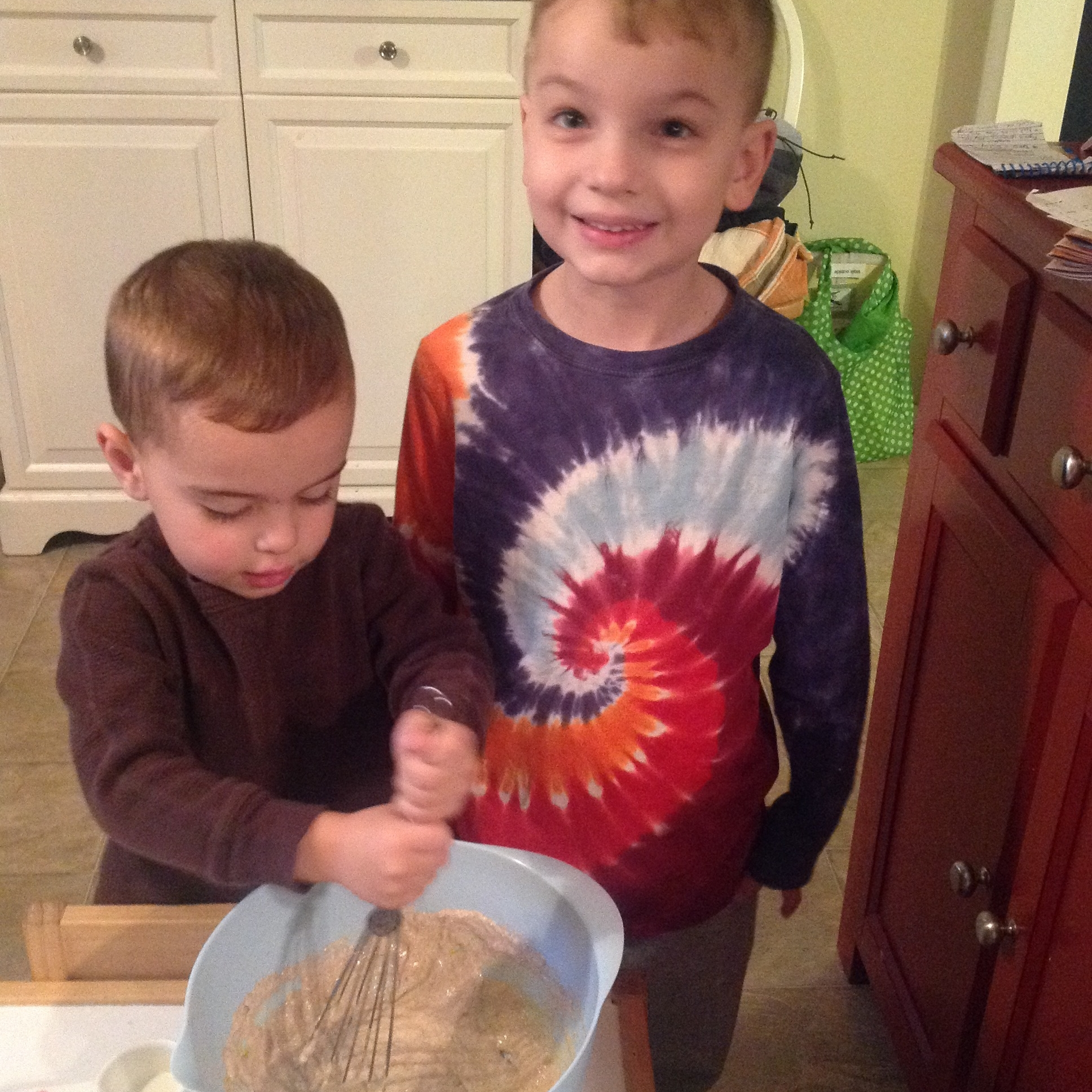 Chefs Patrick and Christian, Ages 3 and 5