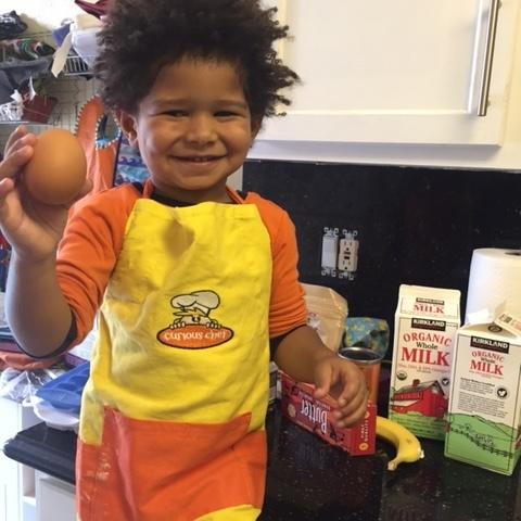Chef Octavian, Age 3