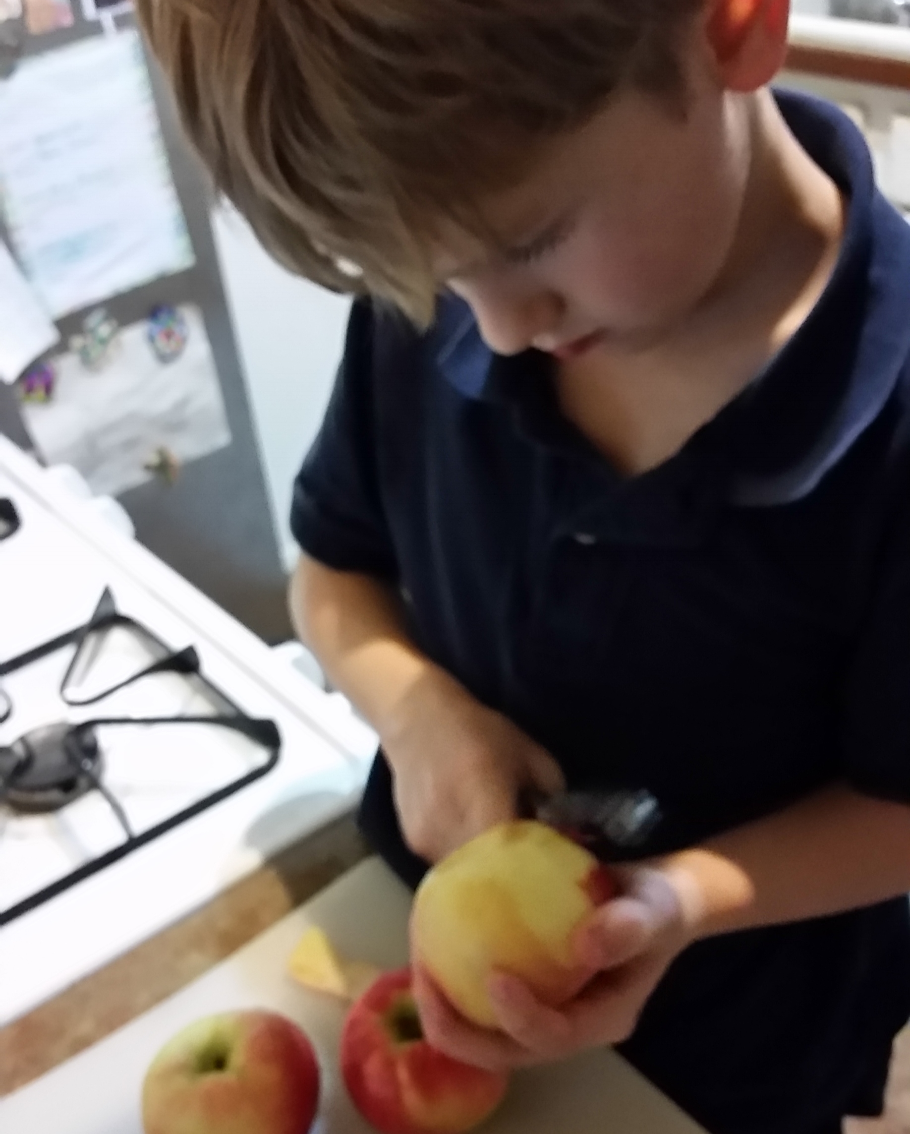 Chef Eoin, Age 8