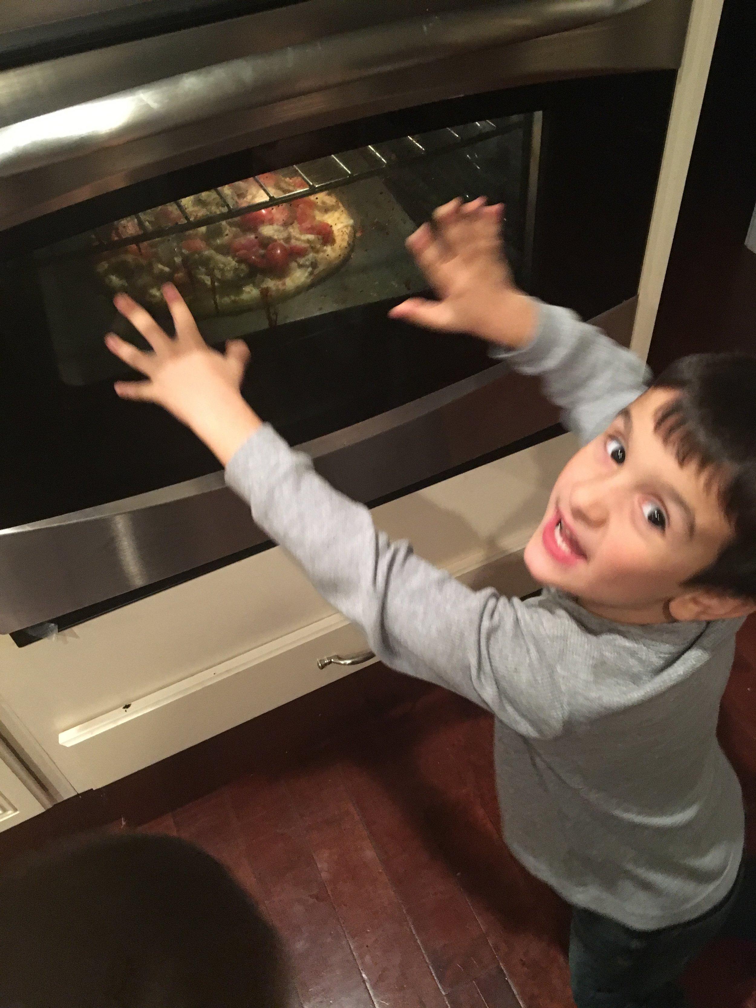Chef Anthony, Age 5
