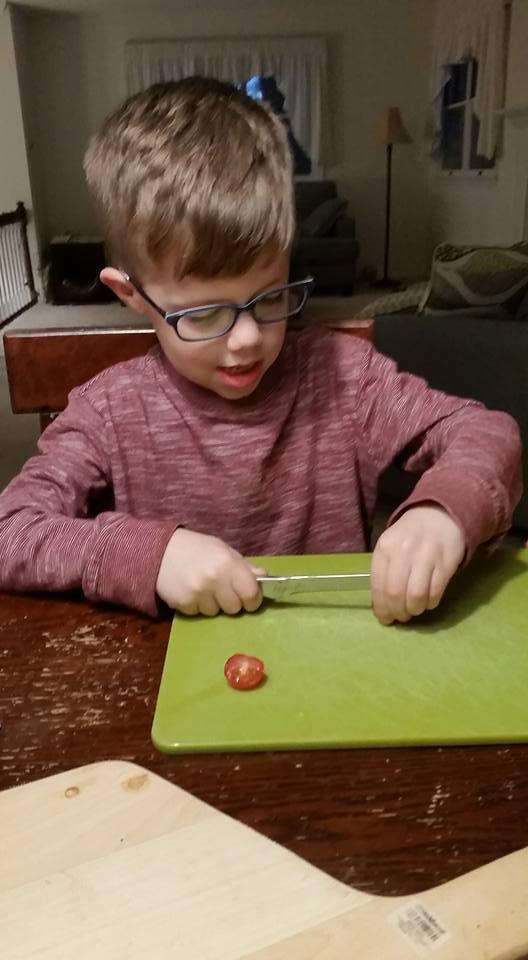 Chef Edison, Age 5