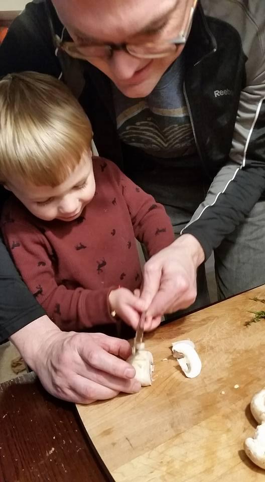 Chef Humphrey, Age 3