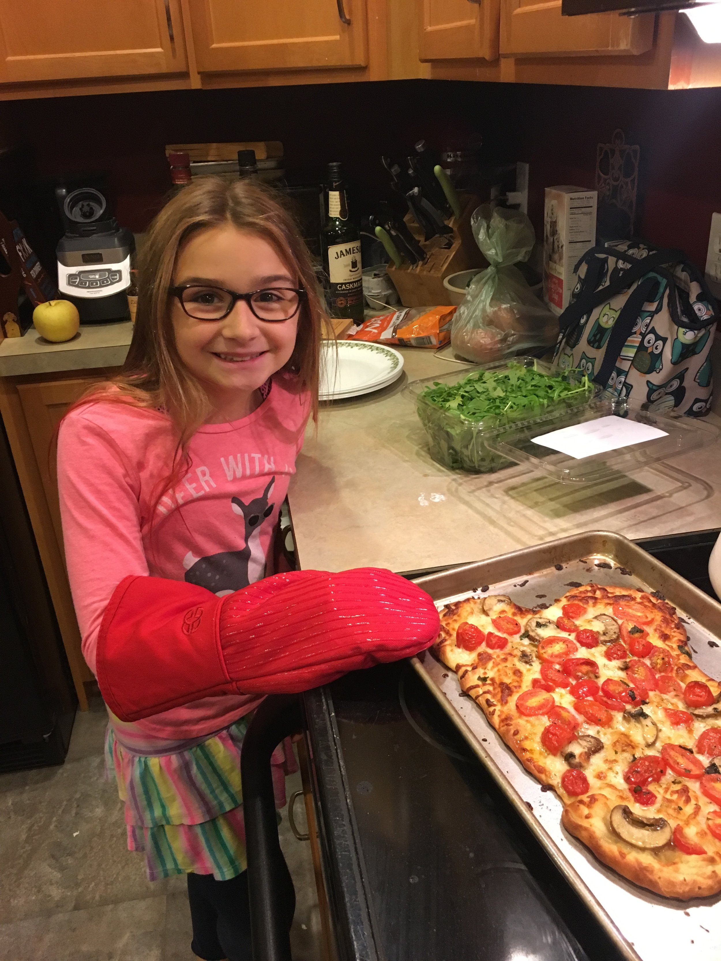 Chef Lily, Age 9