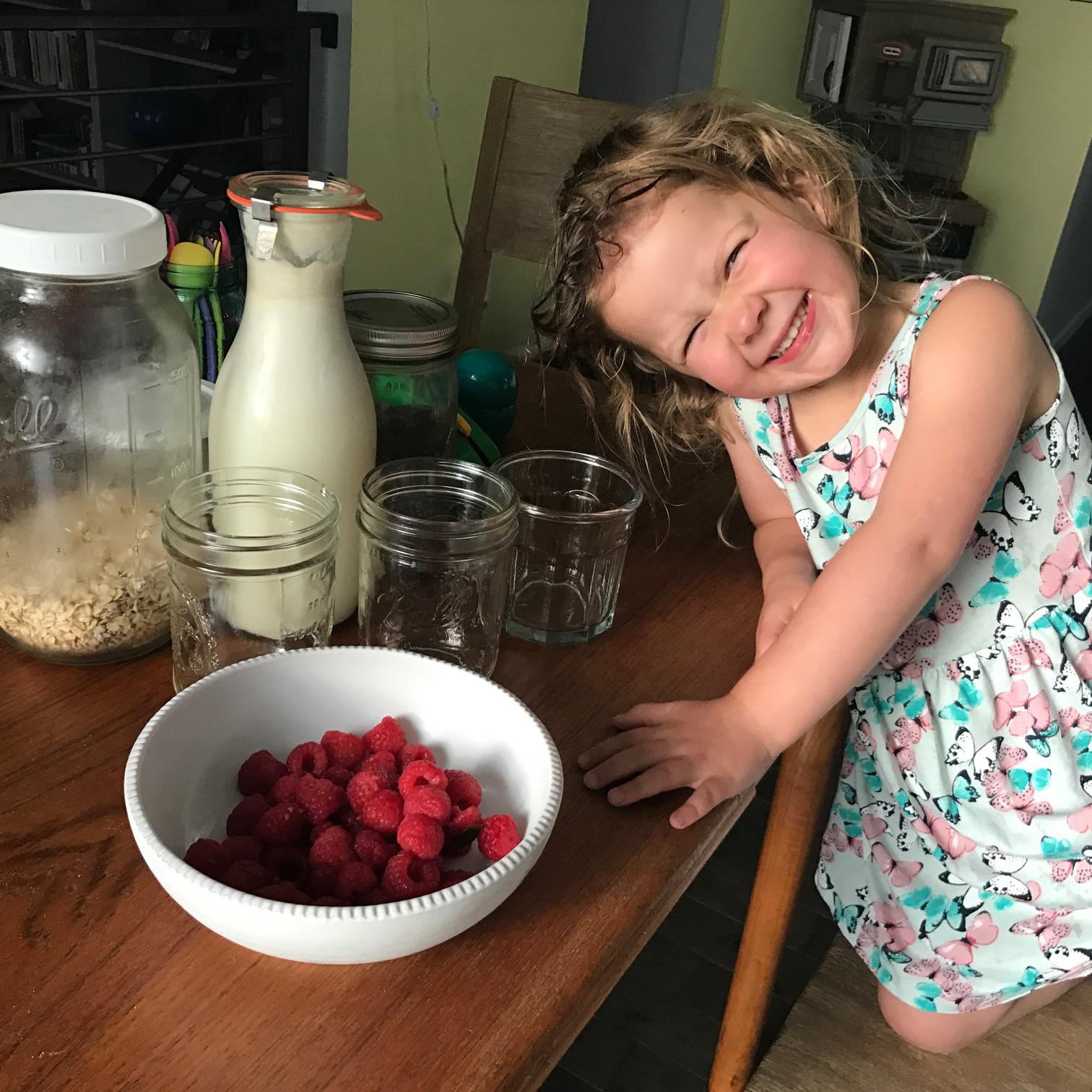 Chef Jemma, Age 3