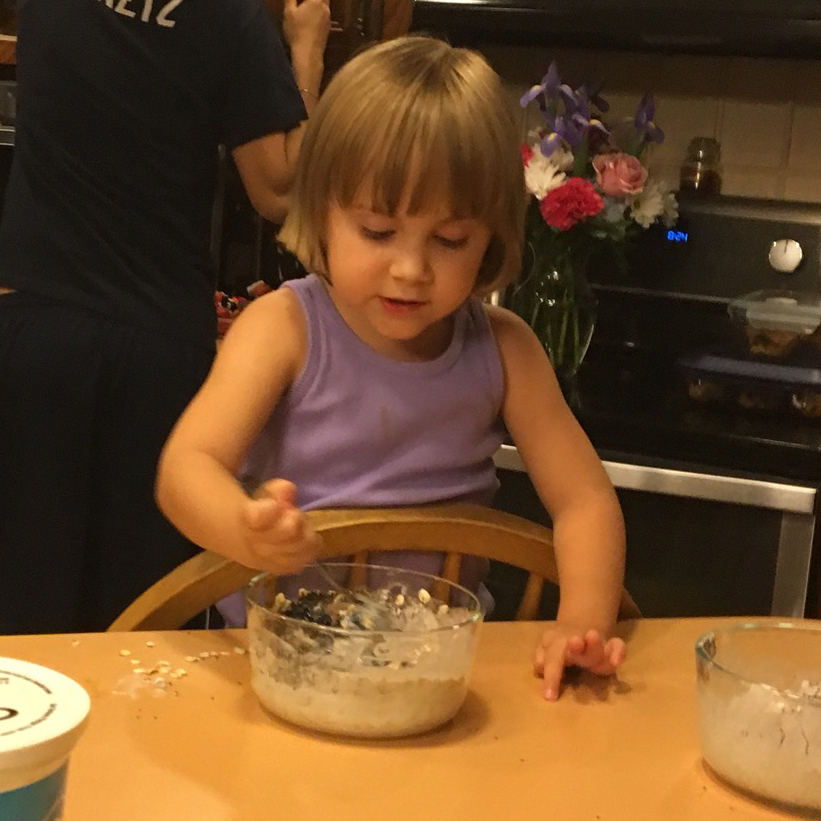 Chef Shea, Age 3