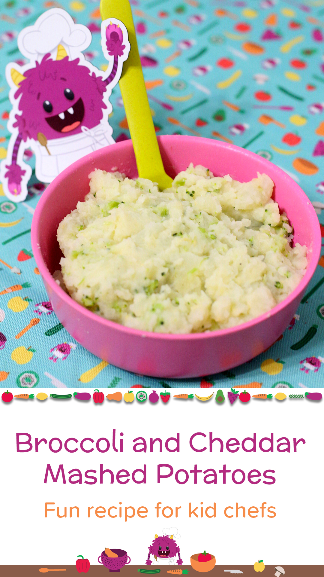 Broccoli and Cheddar Mashed Potatoes Pointerest.jpg