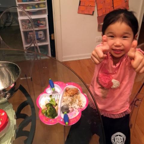 Chef Riley, Age 5